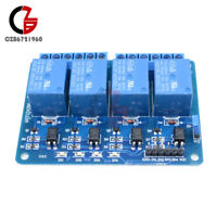 4CH Channel Relay Module DC 5V With Optocoupler For Arduino PIC ARM AVR DSP