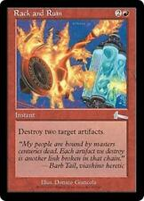 RACK AND RUIN Urza's Legacy MTG Red Instant Unc