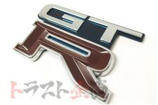 663191234 OEM Rear Trunk Emblem Navy Blue TH1 GTR R32 BNR32