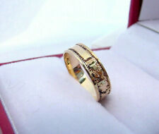 Light Rose Gold Ring Sz 1 1/4 Antique Victorian 1880's Baby Child'S Band 10K