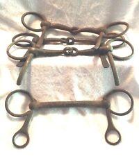 Vintage Western Americana Iron Horse Bits Bridles Wagons Primitives Steampunk