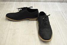Kenneth Cole Unlisted Joss Wingtip Faux Leather Oxfords, Men's Size 9M, Black