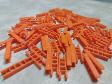 50 KNEX Orange Connectors Bulk Standard Replacement Parts/Pieces