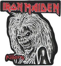Iron Maiden Killers copertina cromo logo portachiavi in metallo ufficiale