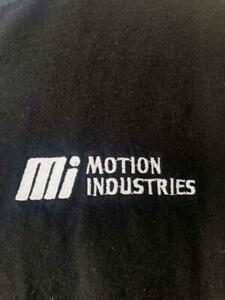 MOTION INDUSTRIES T-SHIRT XL Black Industrial Tee Parts Company extra large