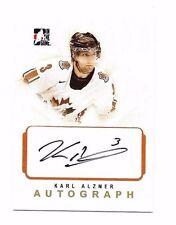 2007-08 ITG O Canada Autographs Karl Alzner