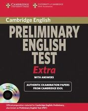 Cambridge Preliminary English Test Extra Student's Book With Answers And Cd-R...