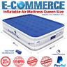 Premium & Portable Inflatable Air Mattress Queen Size With Built In Pump Raise
