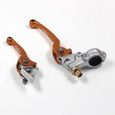 Gold BRAKE & CLUTCH LEVER for Pit Dirt bike dhz atomik Thumpter pitpro 50-125cc