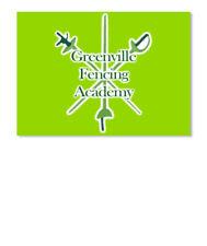 Greenville Fencing Academy 3.4 Sticker - Landscape