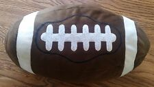 Large Football Shaped Sports 3D Plush Stuffed Animal/Pillow. AWESOME TOY!