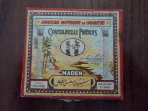 Rare Vintage Orientalist Empty Egyptian Cigarette COUTARELLI FRERES box 1890s