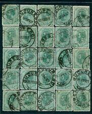 1900 SPIC de GRAU,Wheat Ear,Great Coat of Arms,Romania,123,Bl.of 25,CV$2,000/VFU
