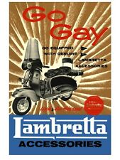 "LAMBRETTA  MODS 16"" x 12"" Reproduction Promo Poster 2"