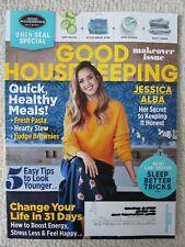 Good Housekeeping Magazine January 2018 Jessica Alba Secret to Keeping It Honest