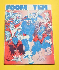 FOOM #10 * 1st New X-Men * Pre-Dates Giant-Size X-Men #1 & X-Men #94 * 8.0 VF