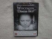 Wisconsin Death Trip DVD R0/ALL-James Marsh-SHOCKING TRUE DOCUMENTARY RARE NEW