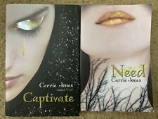 Captivate & Need by Carrie Jones ~ 2 Book Lot ~ Free Shipping