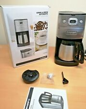 Cuisinart Grind and Brew    Bean to Cup Coffe Maker   Thermal Carafe   DGB650BCU