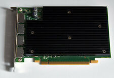 HP NVIDIA QUADRO NVS450 VIDEO CARD 490565-002 492187-001 4 monitor OUTPUT