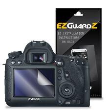 3X EZguardz Screen Protector Skin Cover Shield 3X For Canon EOS 6D (Ultra Clear)