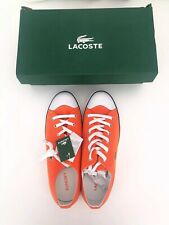 Lacoste 1927 Orange Converse Trainers UK 11, EU 46, US 12