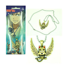 Anime Fairy Tail Happy Charm Necklace Pendant Girl Cosplay Costume Prop Gift