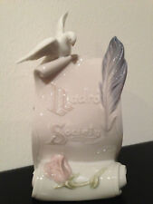 Lladro Society Figurine Plaque #7677 Art Brings Us Together, with box