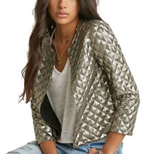 Fashion Womens Blazer Short Jacket Casual Without Zipper Sequined Party Outwears