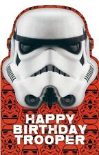 STAR WARS THE FORCE AWAKENS BIRTHDAY CARD STORM TROOPER DISNEY NEW GIFT
