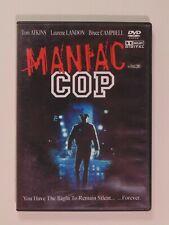Maniac Cop DVD Movie 1988 Horror - Tom Atkins Bruce Campbell