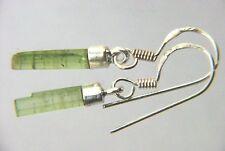 BUTW Sterling Silver Green l Tourmaline Gemstone French Hook  Earrings 5022P