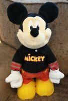 """Disney Walking Talking Singing & Dancing Mickey Mouse 2009 17.5"""" Fisher-Price"""