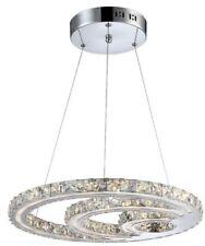 Artículos de iluminación de techo de interior de color principal transparente de cristal 4-6 luces