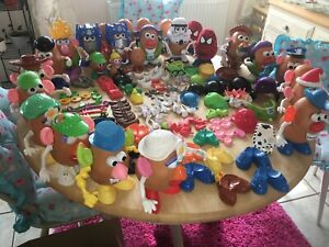Huge Mr Potato Head bundle with 28 potatoes!!!!