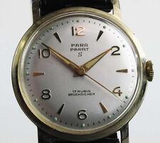 PARA Parat Watch Damen Herren Uhr 1950 /60 Handaufzug Lagerware NOS Vintage 92