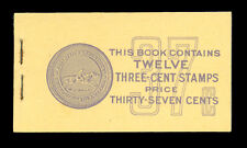3cent Purple Unexploded Booklet