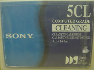 Sony DG5CL Cleaning Tape Cartridge NEW SEALED