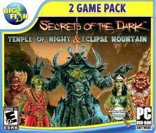 Secrets Of The Dark 2 Pack PC Game Window 10 8 7 Vista XP Computer hidden object