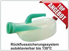 Urinflasche URSEC, 1 Liter,milchig, autoklavierbar mit  Rückflusssicherung