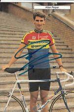 ALLAN PEIPER AUTOGRAPHE cyclisme ciclismo SIGNED Panasonic 90 Cycling radsport