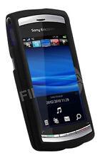 Protection Hybride Noir Coque pour Sony Ericsson Vivaz UK