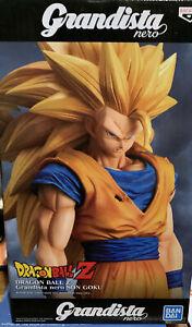 Banpresto GRANDISTA NERO Dragon Ball Z Super Saiyan SS3 Son Goku