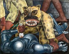 Rivera Diego Indian Warrior Canvas 16 x 20  #5481