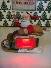 Christmas Hallmark Keepsake Countdown Santa Magic Light Sound Ornament NIB