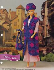 Travel Trio, Annie's Doll Clothes Crochet Pattern FCC06-02 Free 30 Day Layaway!