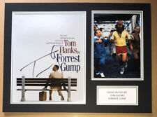 SIGNED TOM HANKS FORREST GUMP 16x12 DISPLAY RARE AUTHENTIC PROOF ZEMECKIS