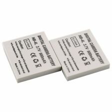 2pcs NB-4L NB4L Batteries for Canon IXUS 60 65 80 75 100 I20 110 115 120 130 IS