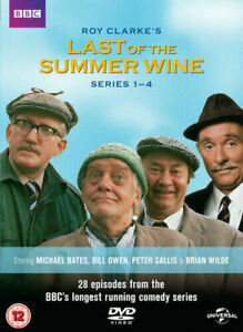 Last Of The Summer Wine Complete Series 1 2 3 & 4 - DVD  **VERY GOOD** FREE POST