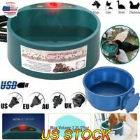 Pets Heated Bowl Automatic Constant Temperature Heating Cats Dogs Food Basin HOT